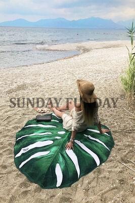 SundayFunday - YAPRAK PLAJ HAVLUSU - MONSTERA